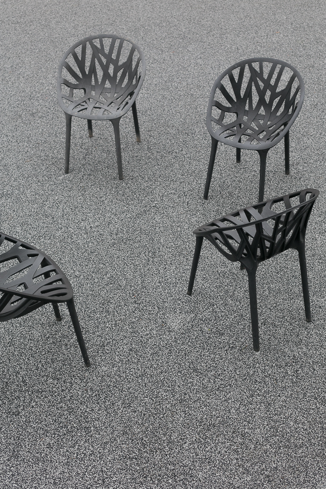 Vitra Campus: Vegetal chairs by Ronan & Erwan Bouroullec, 2008