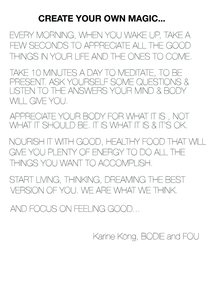 Create your own magic...