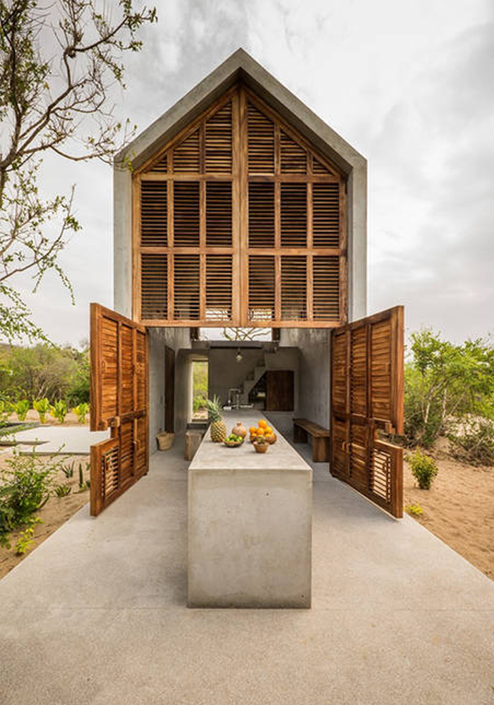 A fab minimalist Airbnb on the Mexican coast