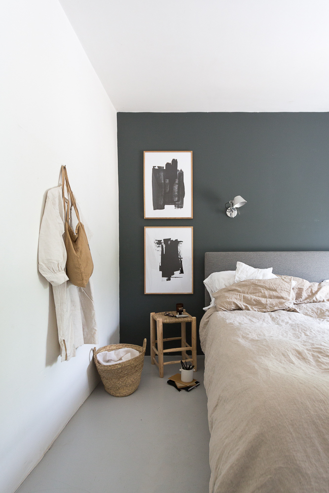 Our bedroom update with natural accents
