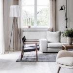 The neutral tones home of Kaja Møller, head of Danish furniture brand Fredericia