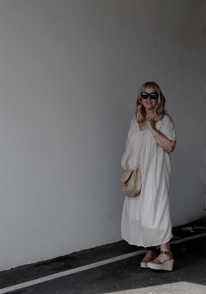 Plaftorm wedges & maxi dress