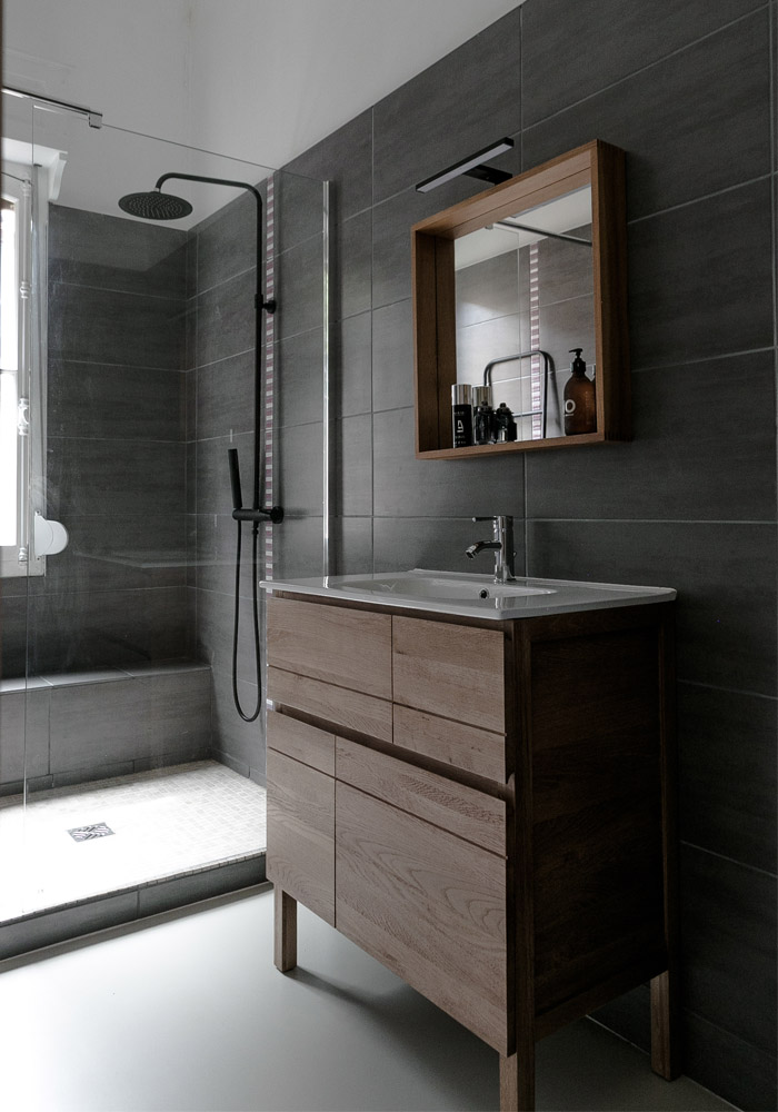 our bathroom makeover with TIKAMOON