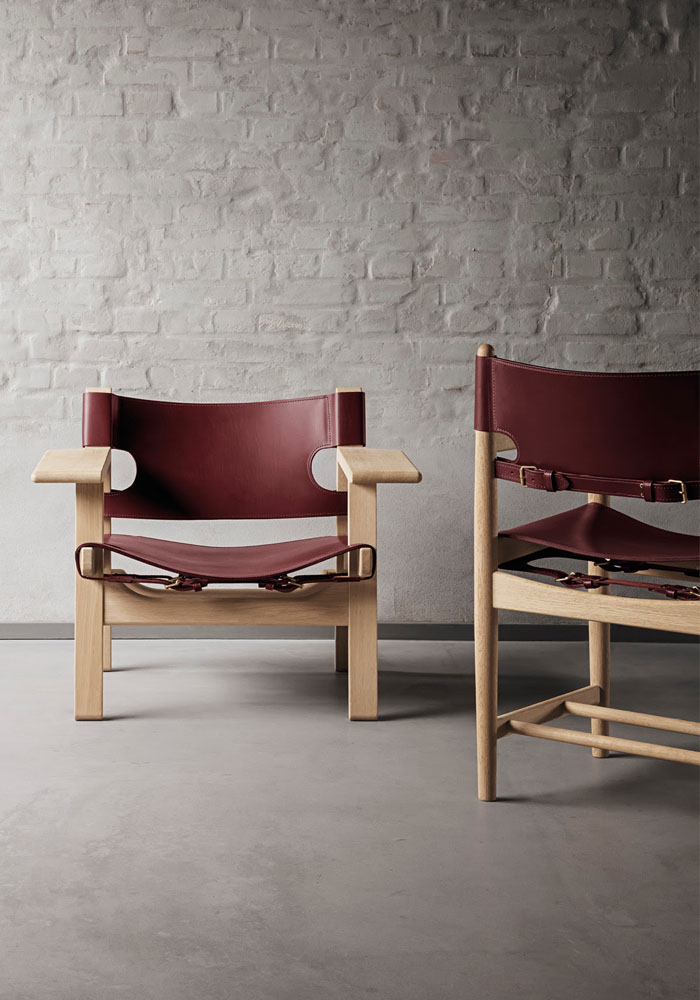 The Spanish chair by Børge Mogensen